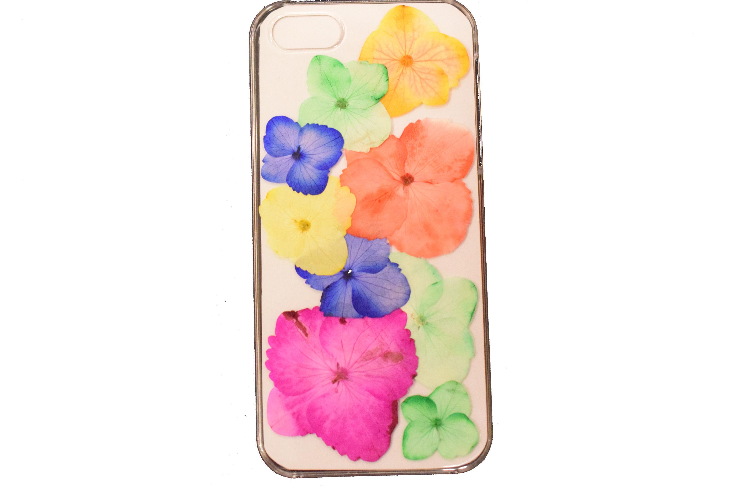 UraBana  押し花iPhoneケース 5&5S&SE 『カラーミスト』UB-50793