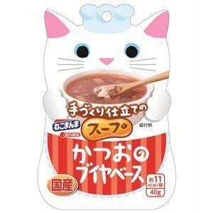 手作り仕立ての猫まんまスープ かつおのブイヤベース 40g
