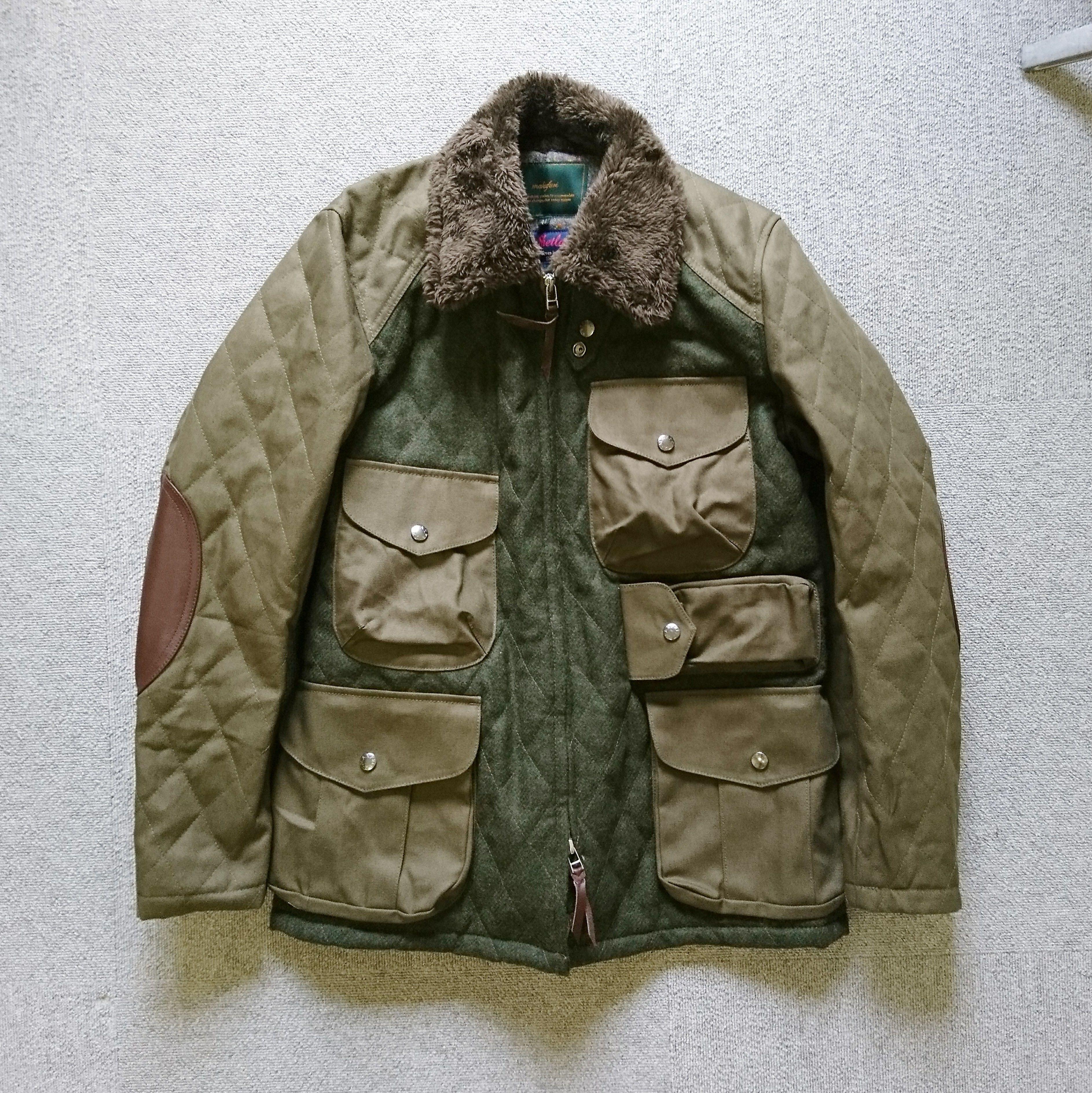 makufuri メルトンフィールドャケット