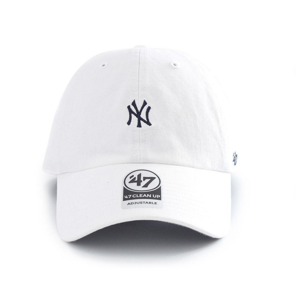 Yankees Base Runner '47 CLEAN UP White