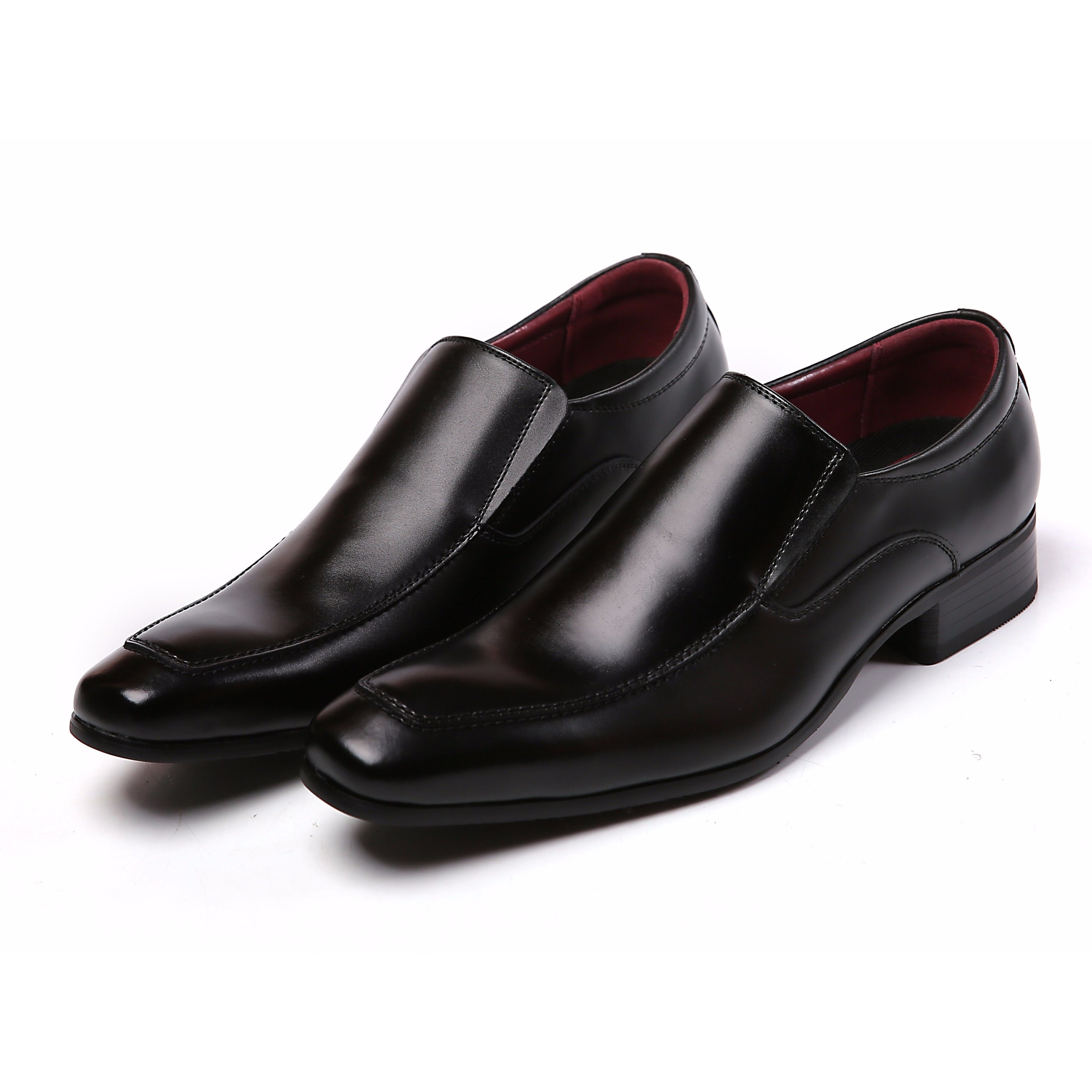 【Jo Marino】 高品質 本革 メンズ 革靴 ビジネスシューズ 紳士靴 防滑 撥水アッパー 高反発インソール 3E 多機能-777-BLACK