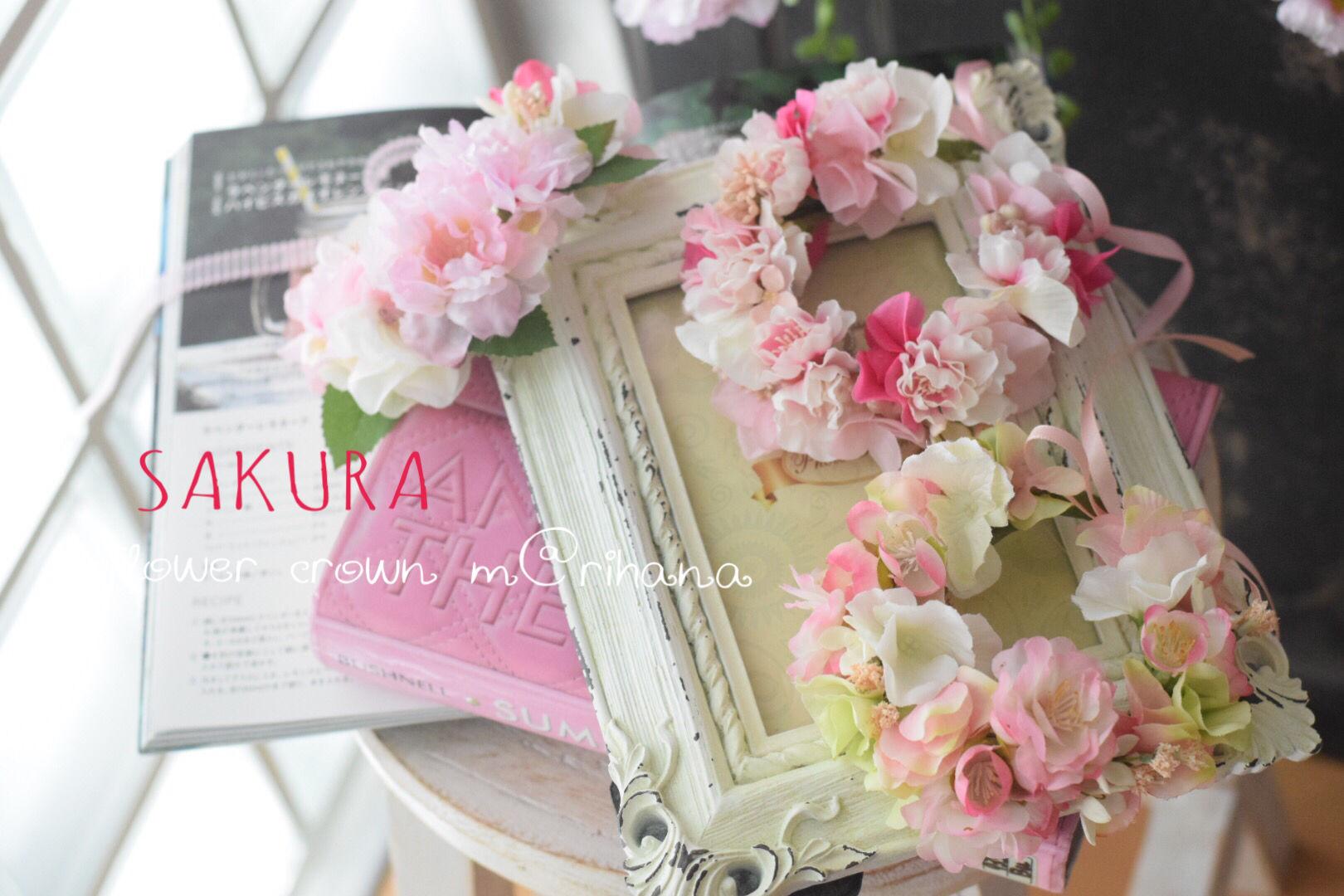 【ご予約】桜?花かんむり