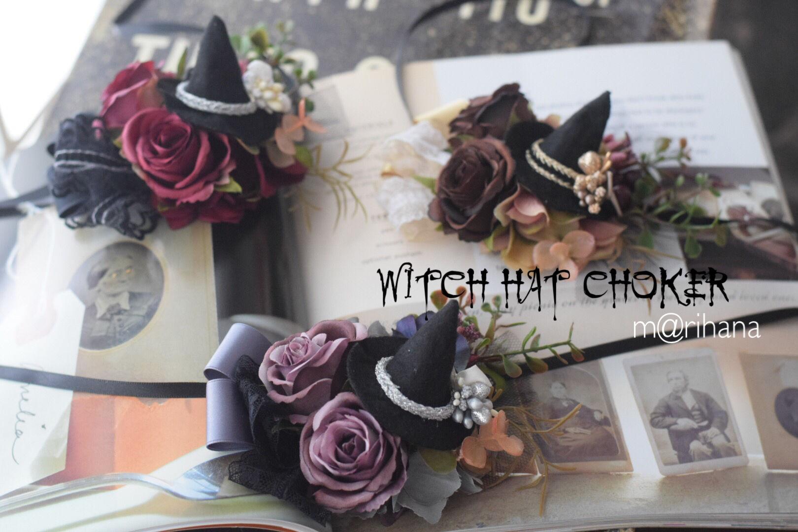【ご予約】Witchi. hat??チョーカー
