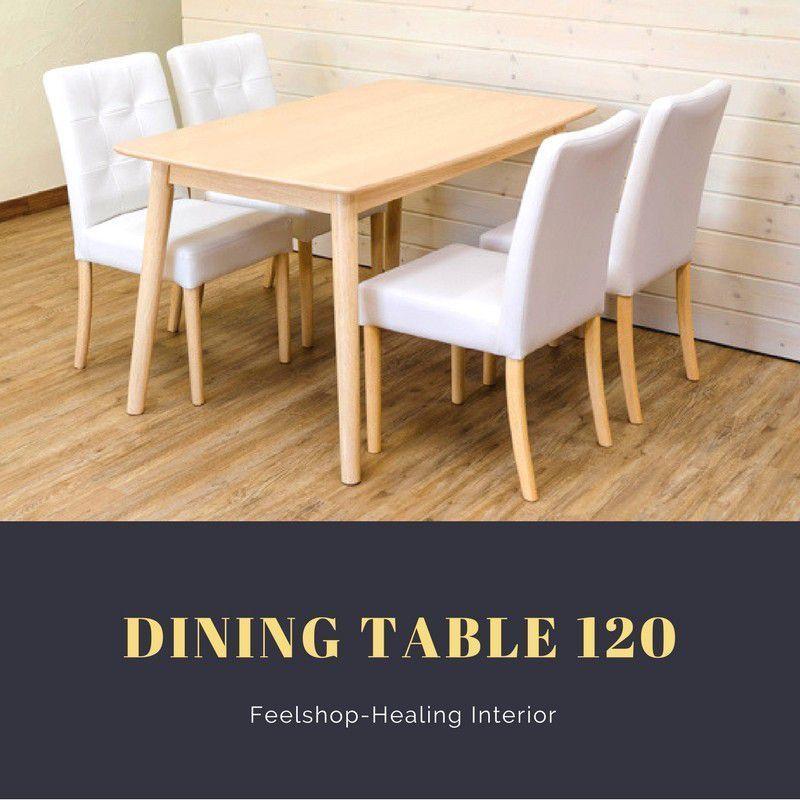 ナチュラルダイニングテーブル 木製家具 4人掛け カフェ 北欧 ナチュラル