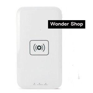 Qi 無接点充電 ワイヤレス充電パッド 【ホワイト】