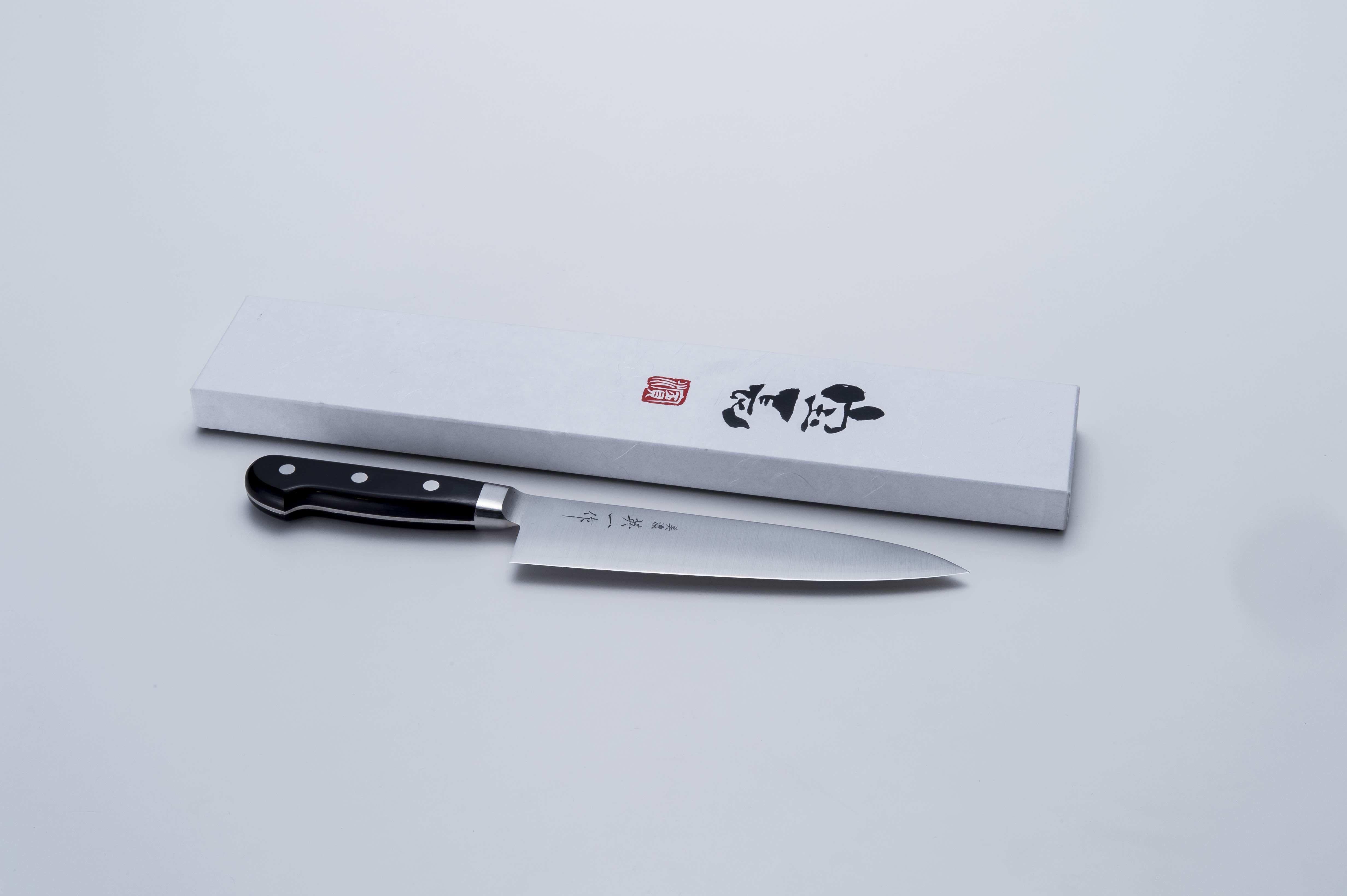 美濃 英一作 青紙牛刀180mm