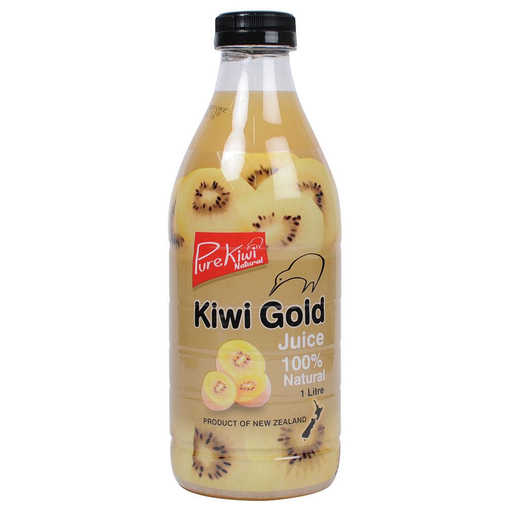 -Pure Kiwi Natural- ニュージーランド産 ゴールドキウィジュース 無加糖・防腐剤・着色料不使用