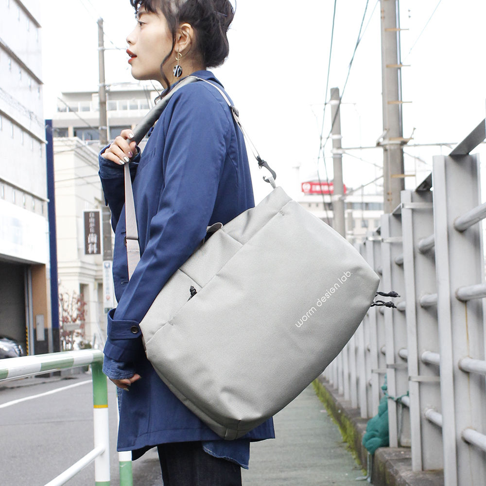 【worm design lab/ワームデザインラボ】CITY COMMUTER SQUARE VBOM-3840