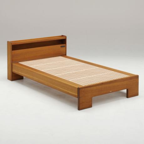 [和光] 総桐の組子ベッド / ここちe (セミダブル 長板仕様)