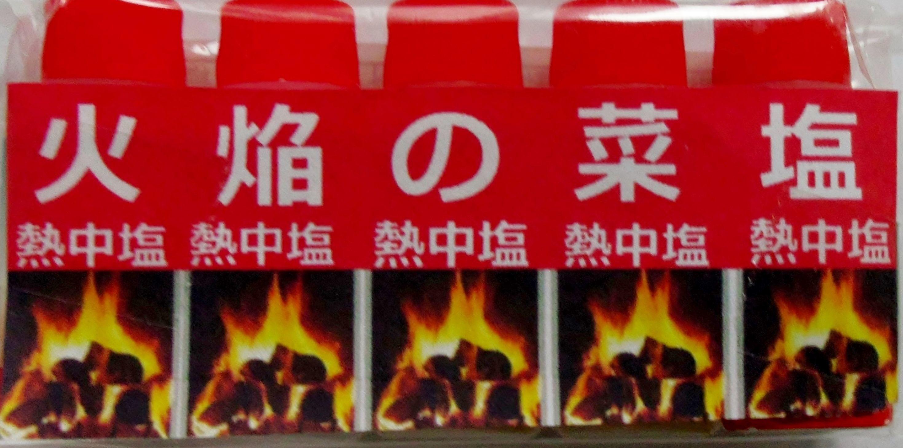 炎の菜塩  熱中症対策の専用塩 5本組 24セット