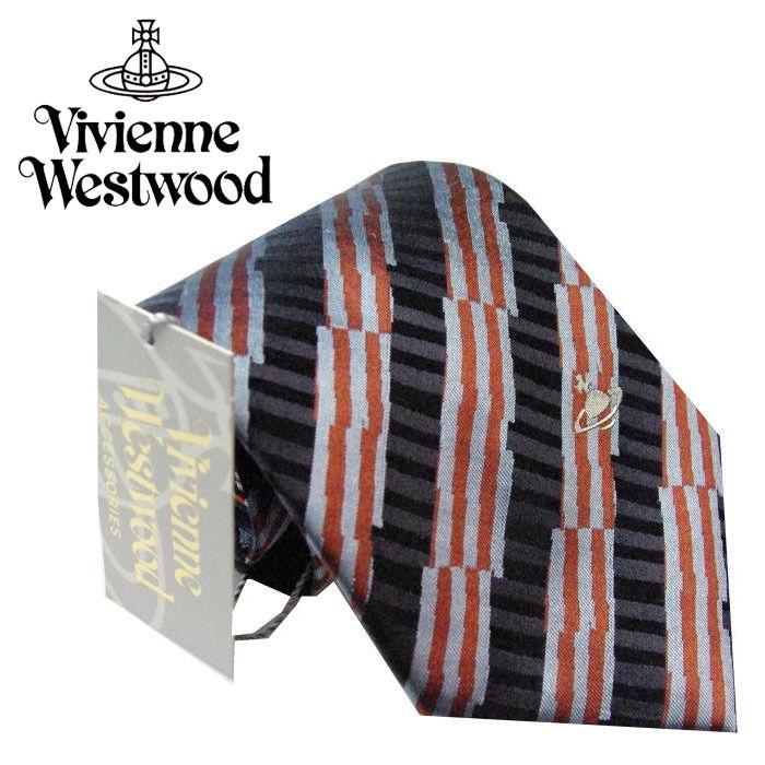 Vivienne Westwood ヴィヴィアンウエストウッド ネクタイ 新柄  (389)