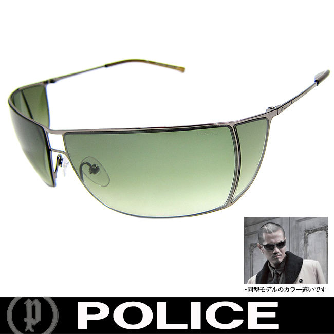 POLICE ポリス 復刻版 ミラー サングラス EXILE ATSUSHI着用 国内正規代理店商品 (36)