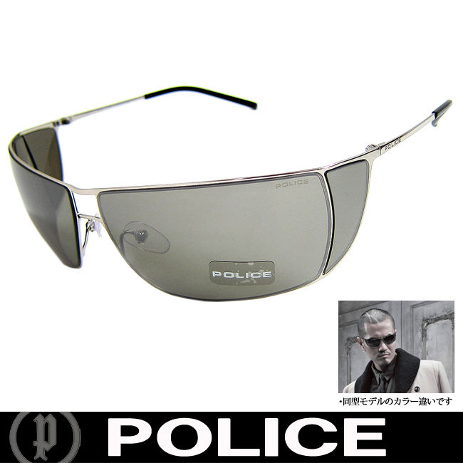 POLICE ポリス 復刻版 ミラー サングラス EXILE ATSUSHI着用 国内正規代理店商品 (33)