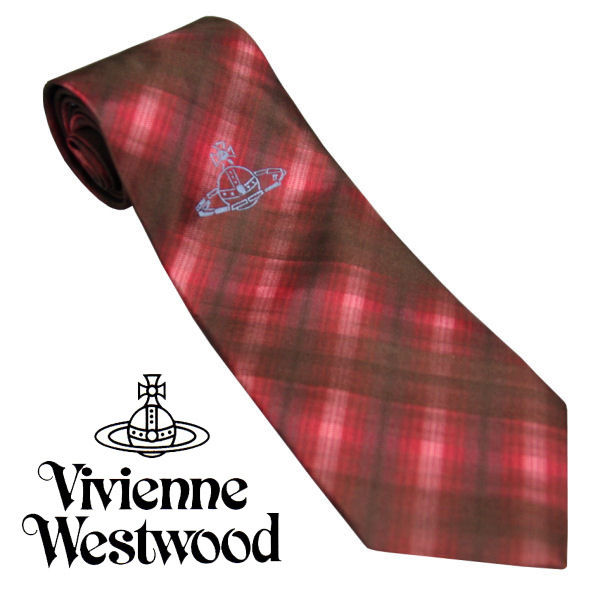 Vivienne Westwood ヴィヴィアンウエストウッド ネクタイ 新柄  (353)