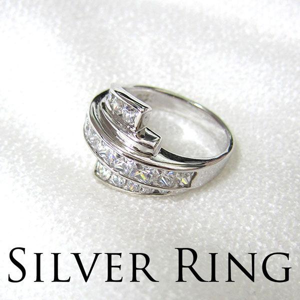 シルバー925 リング 指輪 アクセサリー ジュエリー #7 #9 #11 #16 (4) 選べる