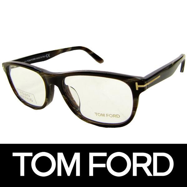 TOM FORD トムフォード だてめがね 眼鏡 伊達メガネ サングラス アジアンフィット FT5430F 062 56 定価48600円 (70)