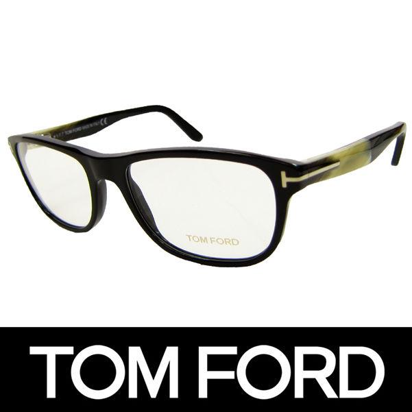 TOM FORD トムフォード だてめがね 眼鏡 伊達メガネ サングラス FT5430 001 54 定価48600円 (69)