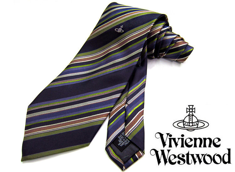 Vivienne Westwood ヴィヴィアンウエストウッド ネクタイ 新柄 F520-5 (459)