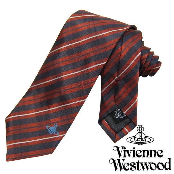 Vivienne Westwood ヴィヴィアンウエストウッド ネクタイ新柄 (642)