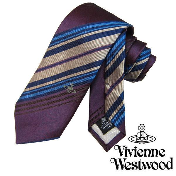 Vivienne Westwood ヴィヴィアンウエストウッド ネクタイ 新柄 (562)