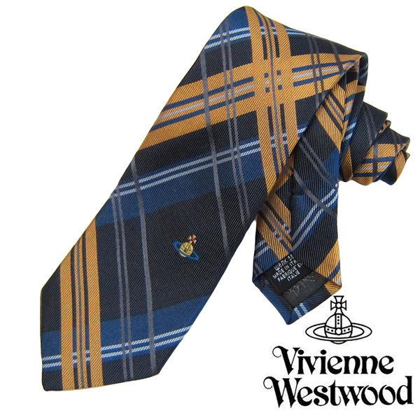 Vivienne Westwood ヴィヴィアンウエストウッド ネクタイ 新柄 (543)