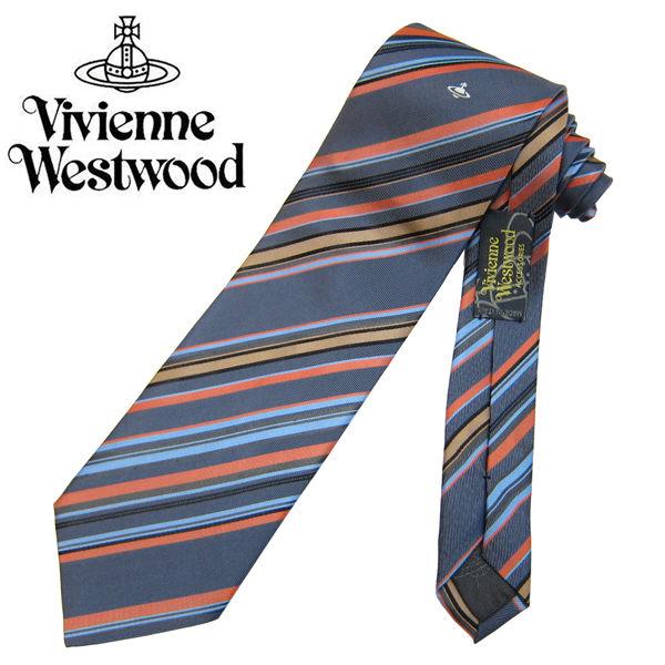 Vivienne Westwood ヴィヴィアンウエストウッド ネクタイ新柄 (643)