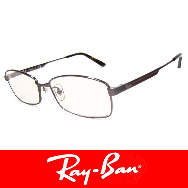 RayBan レイバン チタン だてめがね 眼鏡 伊達メガネ サングラス (77)