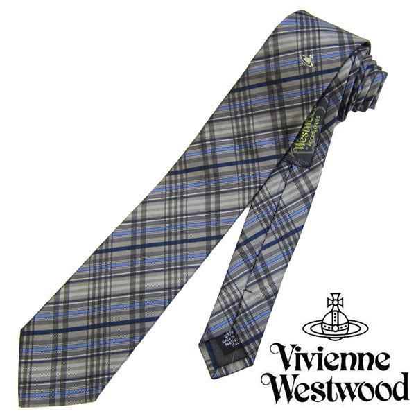 Vivienne Westwood ヴィヴィアンウエストウッド ネクタイ 新柄 (551)