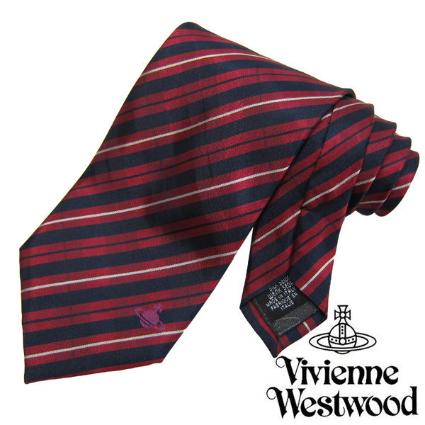 Vivienne Westwood ヴィヴィアンウエストウッド ネクタイ新柄 (680)