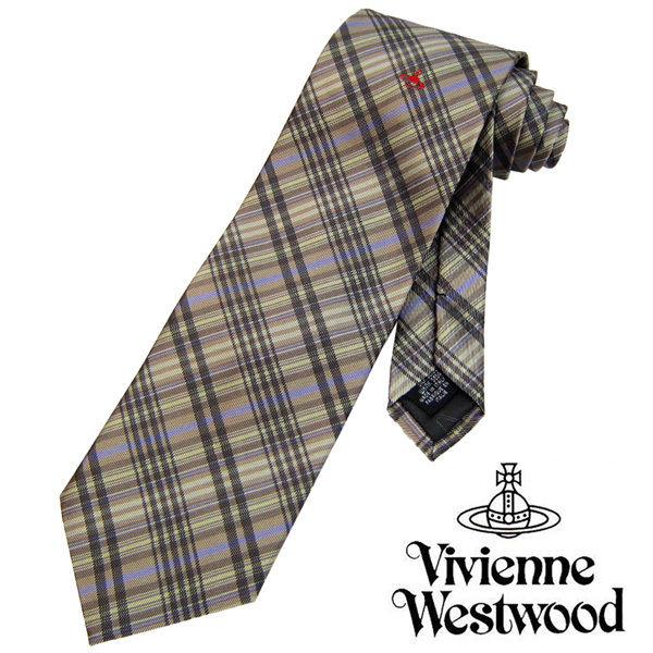 Vivienne Westwood ヴィヴィアンウエストウッド ネクタイ 新柄 (440)