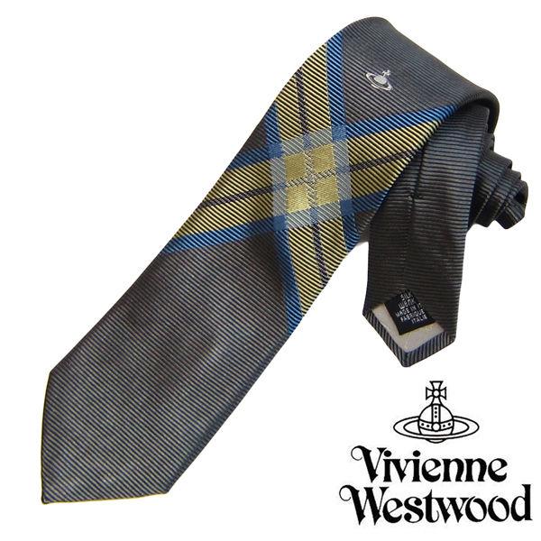 Vivienne Westwood ヴィヴィアンウエストウッド ネクタイ 新柄 (542)