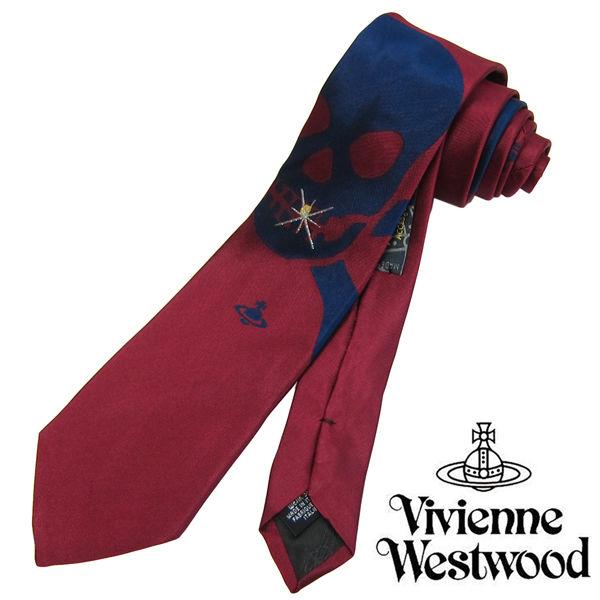 Vivienne Westwood ヴィヴィアンウエストウッド ネクタイ 新柄 (557)