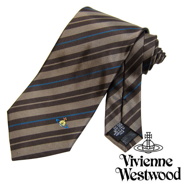 Vivienne Westwood ヴィヴィアンウエストウッド ネクタイ新柄 (598)