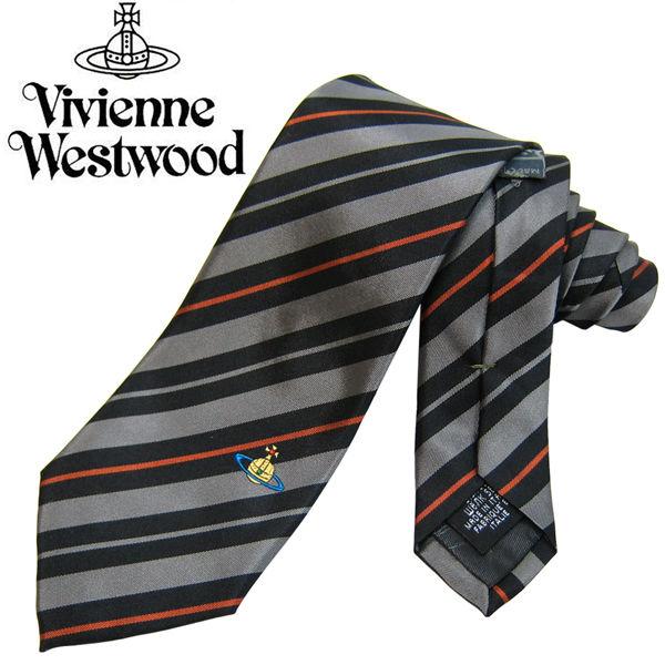 Vivienne Westwood ヴィヴィアンウエストウッド ネクタイ新柄 (596)