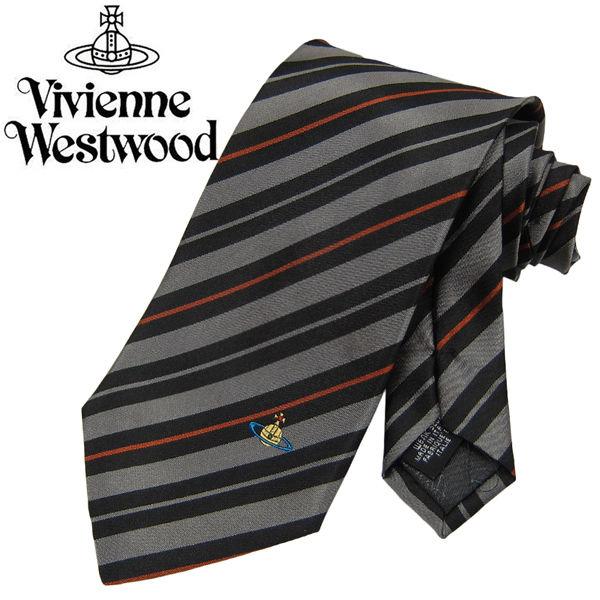 Vivienne Westwood ヴィヴィアンウエストウッド ネクタイ 新柄 (687)