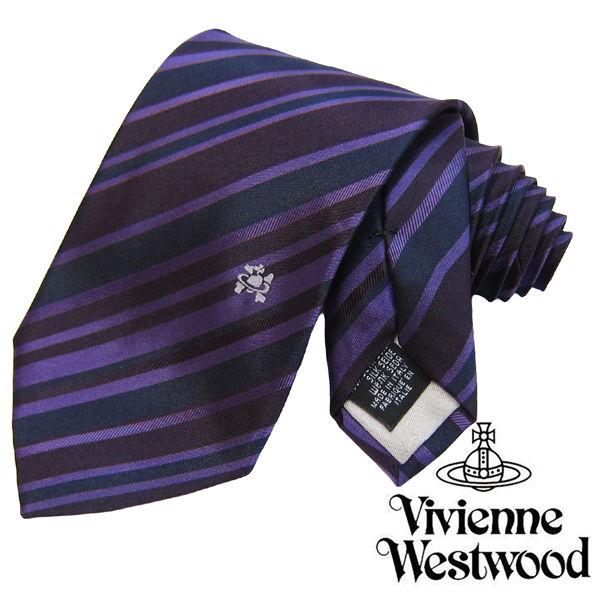 Vivienne Westwood ヴィヴィアンウエストウッド ネクタイ 新柄 (550)
