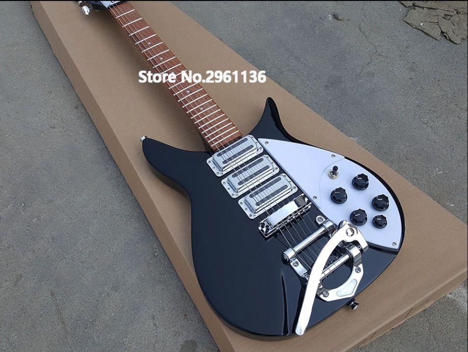 エレキギター リッケンバッカー風 スリーピックアップ