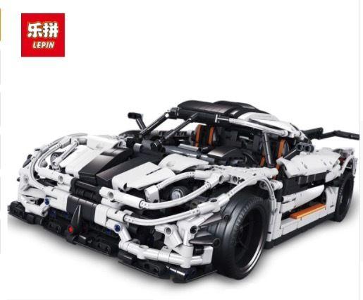 LEPIN レゴ互換 ケーニグセグ ONE:1 3136ピース ハイパーカー