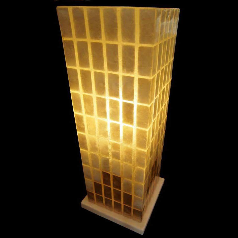 シェルテーブルランプ  New York W17×D17×H45