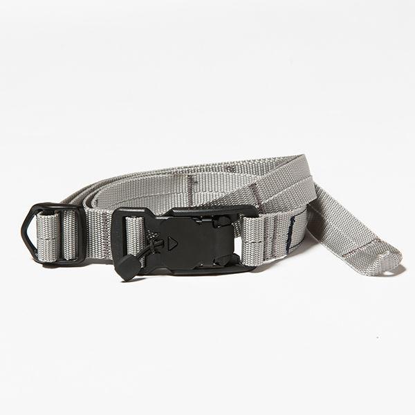 Nylon Quick Release Belt/SILVER GREY
