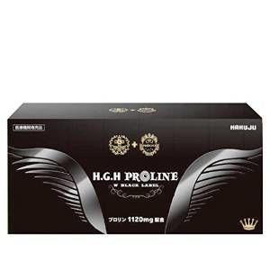 H.G.H PROLINE W BLACK LABEL (15g×31袋)