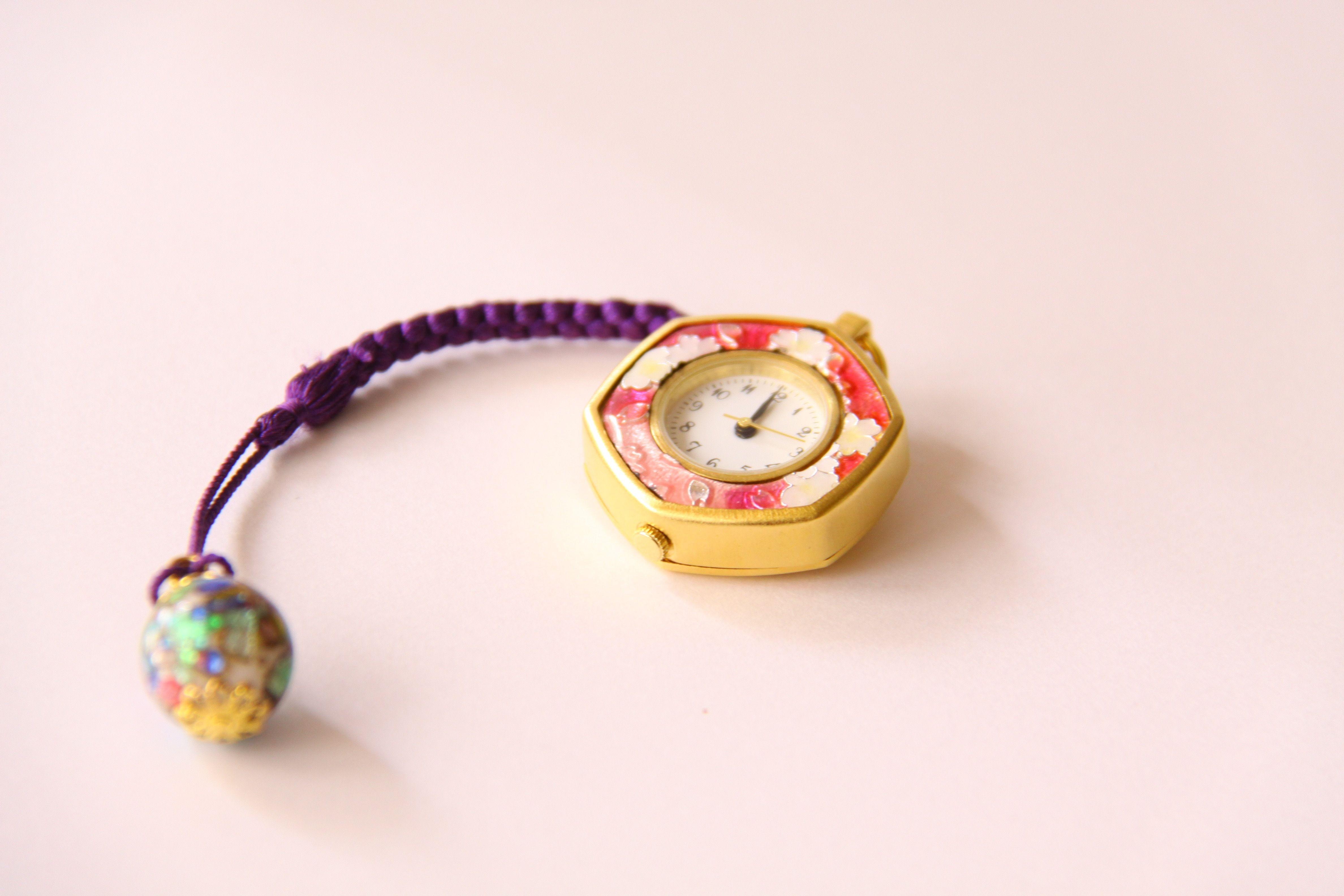 七宝懐中時計