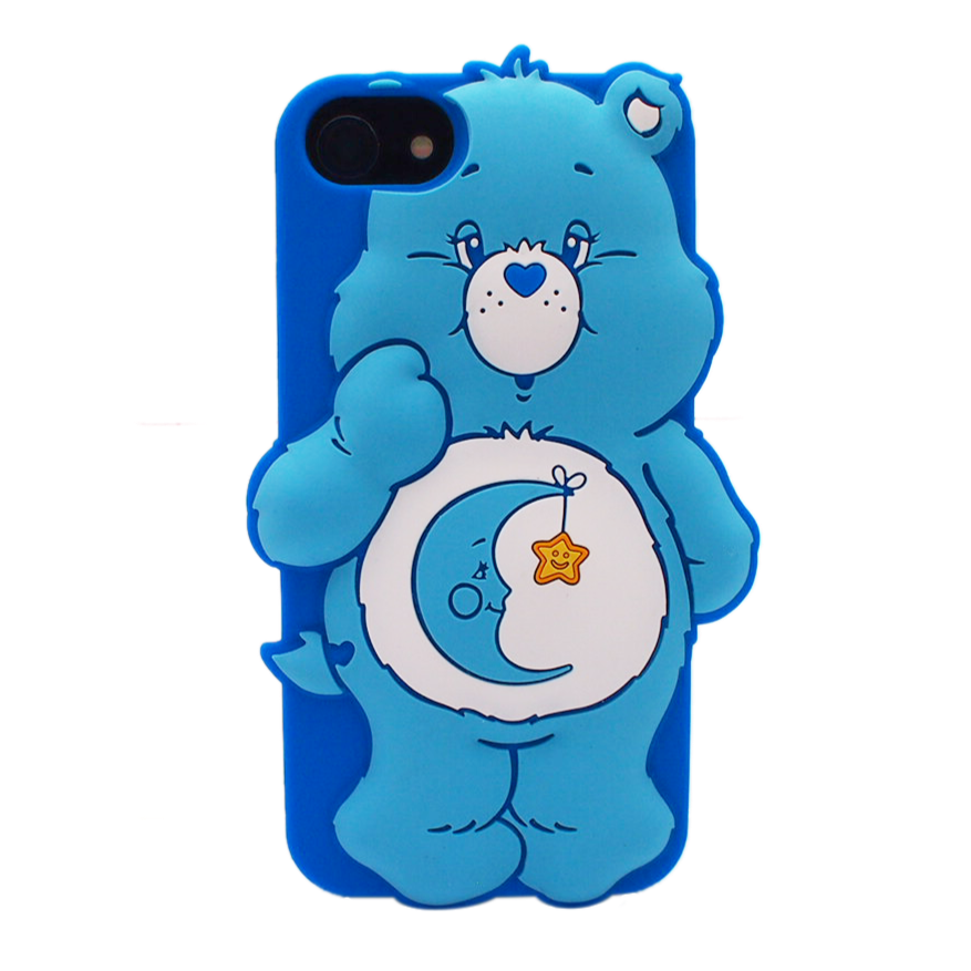 Care bears シリコンケース ベッドタイムベア?for iPhone8/7/6s/6