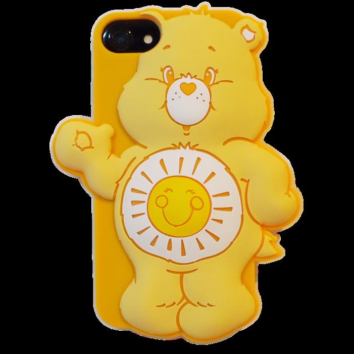 Care bears シリコンケース ファンシャインベア?for  iPhone8/7/6s/6