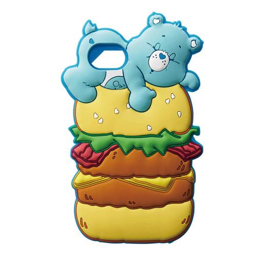 Care bears シリコンケース ハンバーガー?for iPhone8/7/6s/6