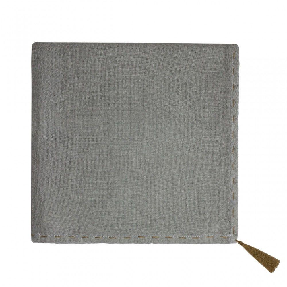 Numero74 Nana Swaddle   Silver grey