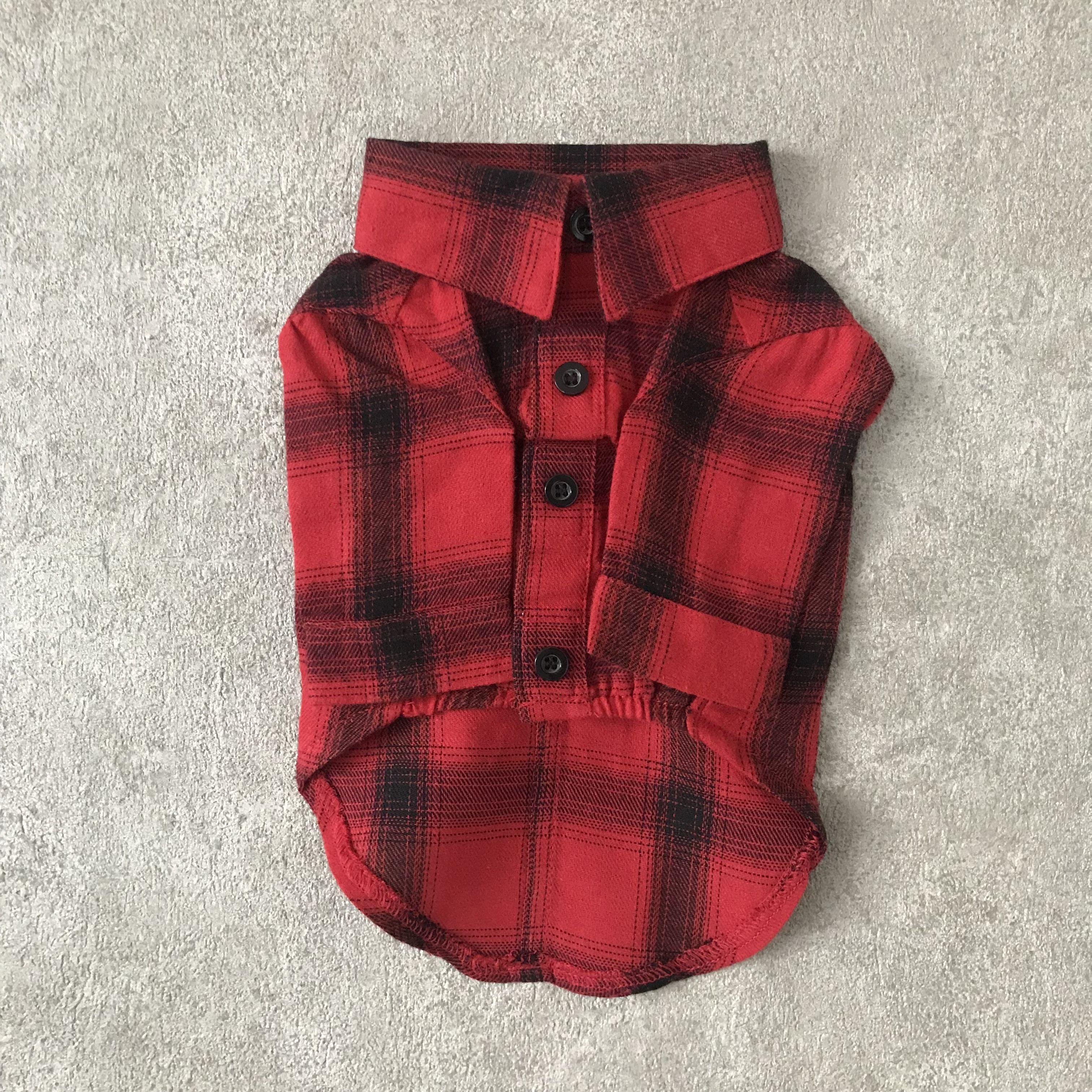 check shirt ?? red