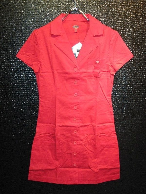 Dickies Girl Betty Ford Dress(RED)