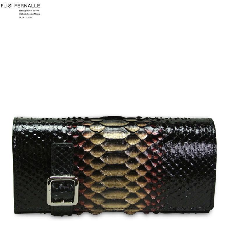 FU-SI FERNALLE(フーシ フェルナーレ) パイソン 長財布
