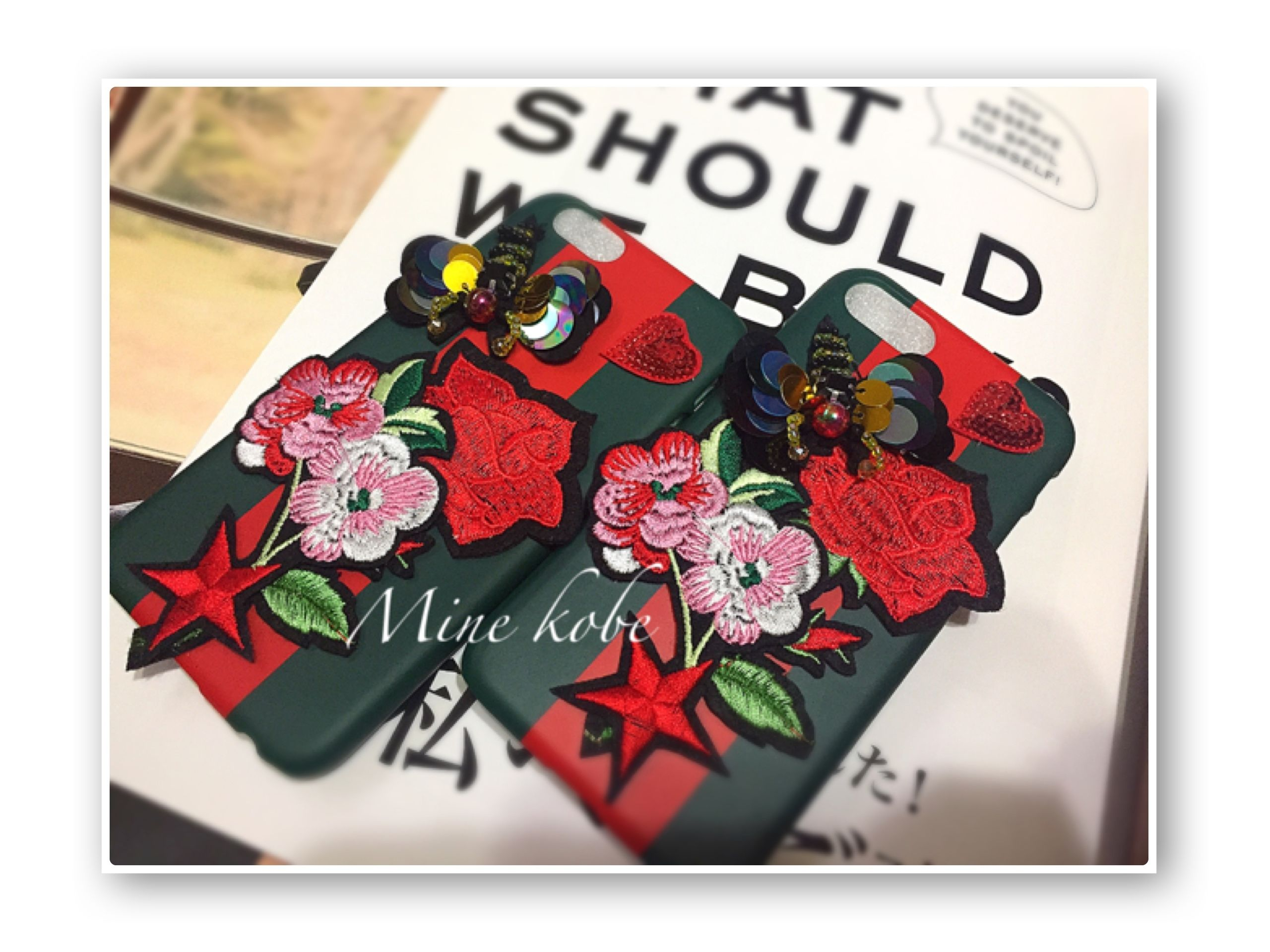 rose bee  bijou iPhone6.6s、7case